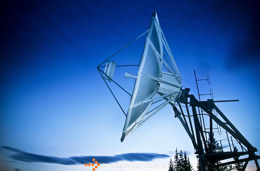 Communication satellite.