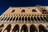 Doge's Palace (Palazzo Ducale), Piazza San Marco, Venice, Italy.