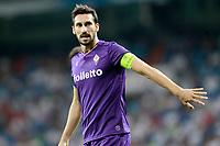 ACF Fiorentina's Davide Astori during Santiago Bernabeu Trophy. August 23,2017. (ALTERPHOTOS/Acero)
