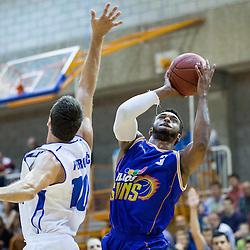 20141011: SLO, Basketball - Liga Telemach, KK Splosna plovba Portoroz vs KK Helios Suns