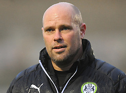 Forest Green Rovers goal keeping coach Steve Hale- Mandatory by-line: Nizaam Jones/JMP - 18/11/2017 - FOOTBALL - New Lawn Stadium - Nailsworth, England - Forest Green Rovers v Crewe Alexandre-Sky Bet League Two