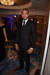 Chris Eubank Jnr at the Chain of Hope Gala Ball held at the Grosvenor House Hotel, Park Lane, London England. 17 November 2017.<br /> Photo by Dominic O'Neill/SilverHub 0203 174 1069 sales@silverhubmedia.com