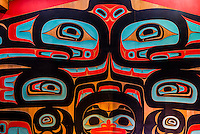 Sitka Tribe of Alaska Clan House, Sitka, Alaska USA.