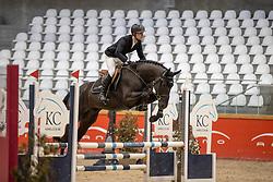 Vervoort Jorik, BEL, Rex van't Roth<br /> Pavo Hengsten competitie - Oudsbergen 2021<br /> © Hippo Foto - Dirk Caremans<br />  22/02/2021