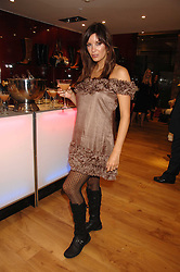 Model CATALINA GUIRADO at the official launch of Kate Kuba & UGG Australia store, 22 Duke of York Square, London SW3 on 10th October 2007.<br /><br />NON EXCLUSIVE - WORLD RIGHTS