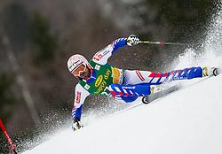 DE TESSIERES Gauthier of France during the 2nd Run of 7th Men's Giant Slalom - Pokal Vitranc 2013 of FIS Alpine Ski World Cup 2012/2013, on March 9, 2013 in Vitranc, Kranjska Gora, Slovenia. (Photo By Vid Ponikvar / Sportida.com)