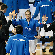 Efes Pilsen's Igor RAKOCEVIC during their Turkish Basketball league match Efes Pilsen between Tofas at the Sinan Erdem Arena in Istanbul Turkey on Sunday 27 February 2011. Photo by TURKPIX