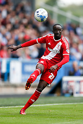 Albert Adomah of Middlesbrough in action - Photo mandatory by-line: Rogan Thomson/JMP - 07966 386802 - 13/09/2014 - SPORT - FOOTBALL - Huddersfield, England - The John Smith's Stadium - Huddersfield town v Middlesbrough - Sky Bet Championship.