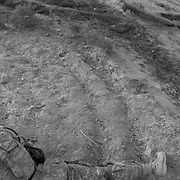 A US soldier covers a patrol through a field with a machine gun in an area where Alexander the Great built a fortress and the British fought a significant battle in Maiwand District, Kandahar Afghanistan. (Credit Image: © Louie Palu/ZUMA Press/The Alexia Foundation)