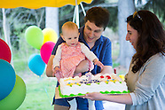 Anna Day's First Birthday