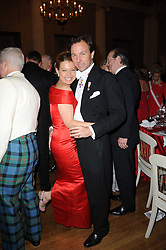 SEBASTIAN PIGGOTT and DANA MALMSTRONC at the 13th annual Russian Summer Ball held at the Banqueting House, Whitehall, London on 14th June 2008.<br />