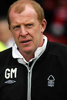 Photo: Paul Thomas. Nottingham Forest v Derby County. Forest Ground, Nottingham. Coca Cola Championship. 26/02/2005. Forest Manager Gary Megson.