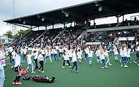 AMSTELVEEN -  Inzameling met dans voor Nederlandse RETT Syndroom Vereniging .  competitie Hoofdklasse hockey dames   (2017-2018) .COPYRIGHT KOEN SUYK