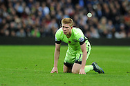 Kevin De Bruyne of Manchester city looks on.  Barclays Premier league match, Aston Villa v Manchester city at Villa Park in Birmingham, Midlands  on Sunday 8th November 2015.<br /> pic by  Andrew Orchard, Andrew Orchard sports photography.