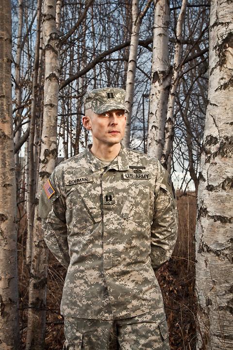 National Guard Captain Andreas Bohman, Anchorage, Alaska