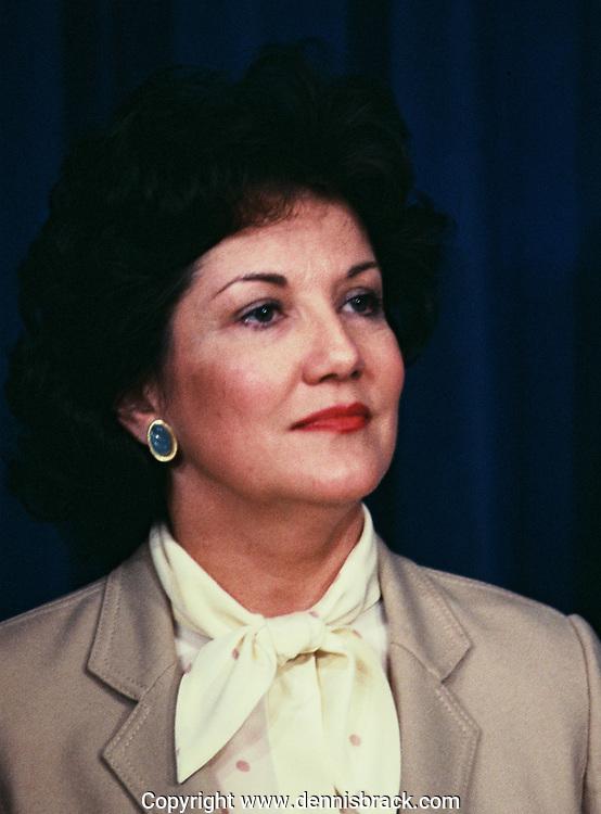 Elizabeth Dole in January 1984<br /><br />Photo by Dennis Brack bb71