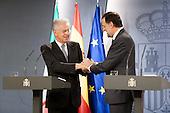 Hispano-Italian meeting at Moncloa Palace