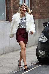 September 7, 2017 - London, London, United Kingdom - Image licensed to i-Images Picture Agency. 07/09/2017. London, United Kingdom. Mollie King, the former singer with The Saturdays and a contestant in the new BBC television series of Strictly Come Dancing  arriving  for an AOL discussion series in London. Picture by Stephen Lock / i-Images (Credit Image: © Stephen Lock/i-Images via ZUMA Press)