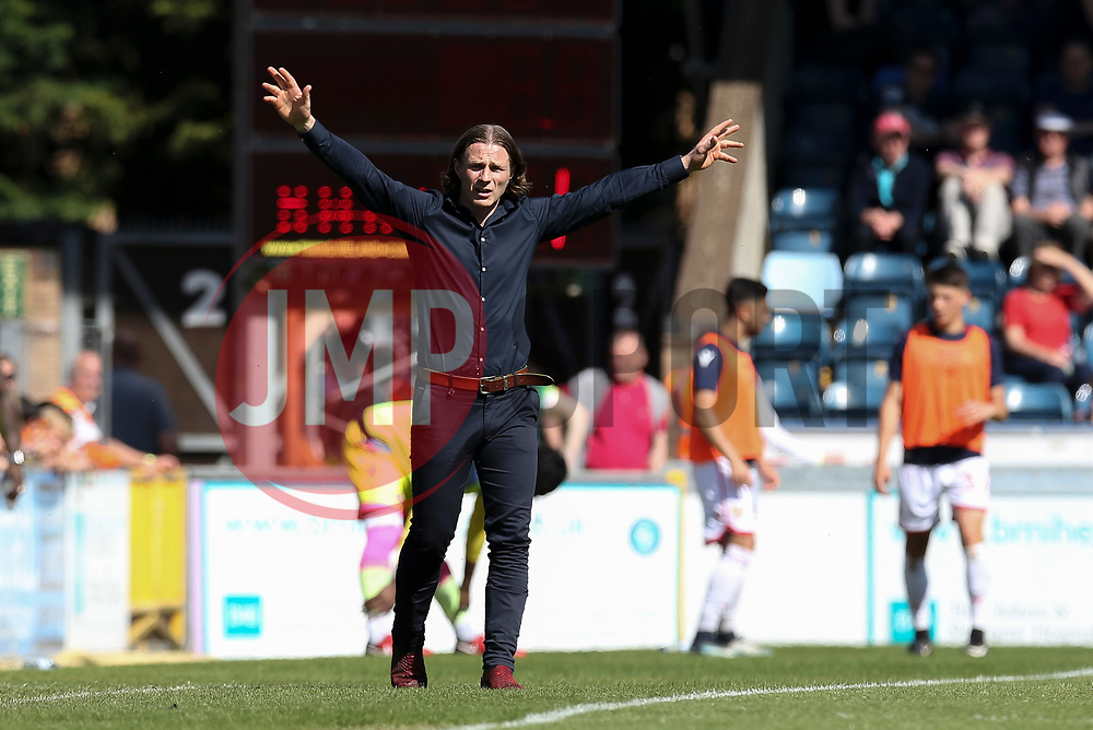 Wycombe Wanderers manager Gareth Ainsworth - Mandatory by-line: Jason Brown/JMP - 05/05/2018 - FOOTBALL - Adam's Park - High Wycombe, England - Wycombe Wanderers v Stevenage - Sky Bet League Two
