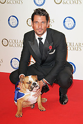 © Licensed to London News Pictures. 30/10/2014, UK. David Gandy, Battersea Dogs & Cats Home's Collars & Coats Gala Ball, Battersea Evolution, London UK, 30 October 2014. Photo credit : Richard Goldschmidt/Piqtured/LNP