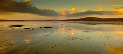 Evening light at Borve, Berneray looking towards North Uist and the Sound of Harris, Outer Hebrides, Scotland<br /> <br /> (c) Andrew Wilson | Edinburgh Elite media