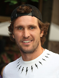 August 23, 2018 - New York City, New York, U.S. - Tennis player MISCHA ZVEREV attends the .2018 Lotte Palace Invitational Badminton Tournament held at the Lotte New York Palace. (Credit Image: © Nancy Kaszerman via ZUMA Wire)