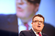 © Licensed to London News Pictures. 27/09/2011. LONDON, UK. Tom Watson MP. The Labour Party Conference in Liverpool today (27/09/11). Photo credit:  Stephen Simpson/LNP