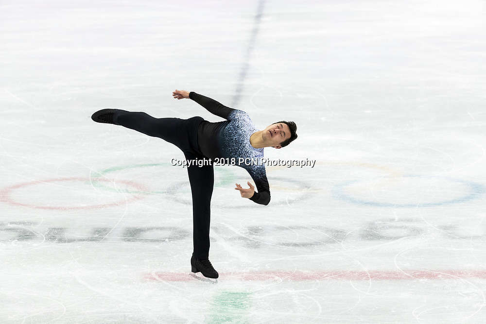 Patrick Chan (CAN) competing in the Figure Skating Men,s Short competiition at the Olympic Winter Games PyeongChang 2018