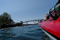 Kayaking outside Grimstad