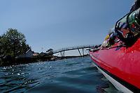 Kayaking outside Grimstad
