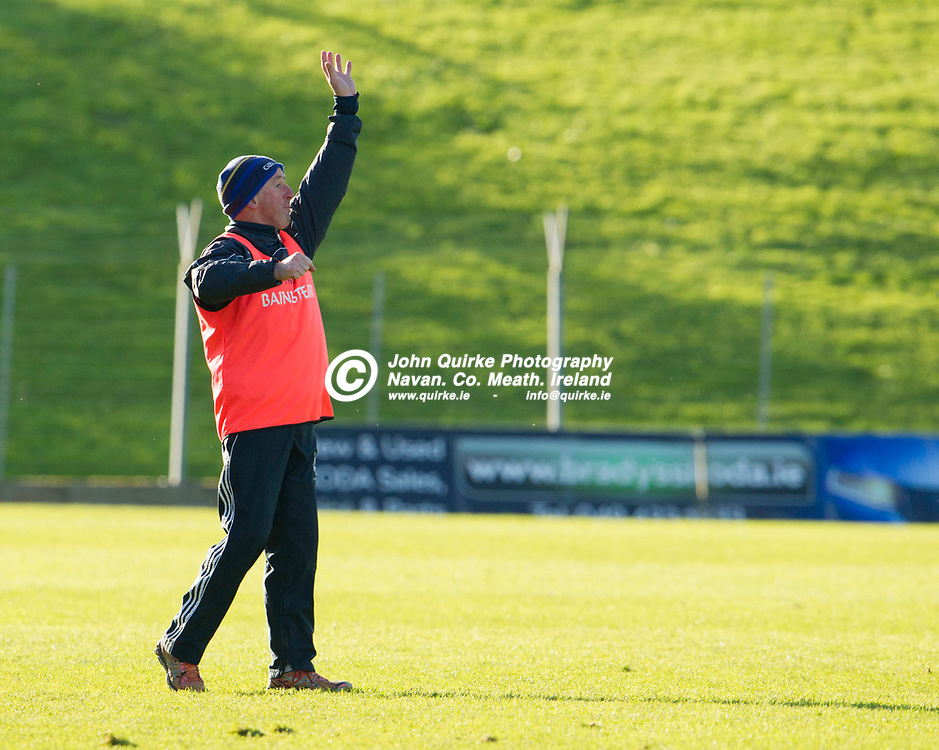 20-10-19. Kiltale v Kildalkey- Meath SHC Final (Replay) at Pairc Tailteann.<br /> Pat O'Halloran, Kildalkey Joint Manager.<br /> Photo: John Quirke / www.quirke.ie<br /> ©John Quirke Photography, Unit 17, Blackcastle Shopping Cte. Navan. Co. Meath. 046-9079044 / 087-2579454.