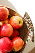Ripe Red Pink Lady Apples