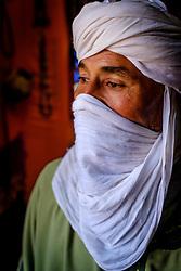 Portrait of a shopkeeper, southern Moroco<br /> <br /> (c) Andrew Wilson   Edinburgh Elite media