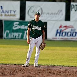 The Ponchatoula baseball Pevey Realtors American Legion teams in action on July 07, 2009 at Athletic Park in Ponchatoula, Louisiana.