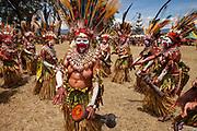 Goroka festival, 140 ethnic tribes come together for three day Sing sing, Goroka, Eastern Highlands, Papua New Guinea