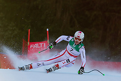 10.02.2011, Kandahar, Garmisch Partenkirchen, GER, FIS Alpin Ski WM 2011, GAP, Damen Abfahrtstraining, im Bild Andrea Fischbacher (AUT) whilst competing in the women's downhill training run on the Kandahar race piste at the 2011 Alpine skiing World Championships, EXPA Pictures © 2011, PhotoCredit: EXPA/ M. Gunn