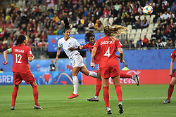 June 15, 2019 - Grenoble, France, FRANCE - Kadeisha Buchanan (canada) vs Abby Erceg  (Credit Image: © Panoramic via ZUMA Press)
