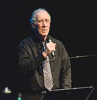 Paul Moynihan performs christian music at the Inter Lakes auditorium February 20, 2010.
