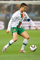 FOOTBALL - FIFA WORLD CUP 2010 - 1/8 FINAL - SPAIN v PORTUGAL - 29/06/2010 - PHOTO GUY JEFFROY / DPPI - CRISTIANO RONALDO (POR)