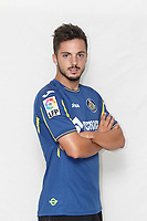 Pablo Sarabia poses during official La Liga 2015-16 photo session in Madrid, Spain. July 24, 2015. (ALTERPHOTOS/Victor Blanco)