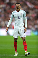 Dele Alli of England in action. FIFA World cup qualifying match, european group F, England v Malta at Wembley Stadium in London on Saturday 8th October 2016.<br /> pic by John Patrick Fletcher, Andrew Orchard sports photography.