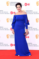 Fiona Shaw attending the Virgin Media BAFTA TV awards, held at the Royal Festival Hall in London. Photo credit should read: Doug Peters/EMPICS