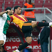 Galatasaray's Colin Kazim RICHARDS (R) during their Turkish Super League soccer match Galatasaray between Konyaspor at the T T Arena at Seyrantepe in Istanbul Turkey on Sunday, 20 May 2011. Photo by TURKPIX