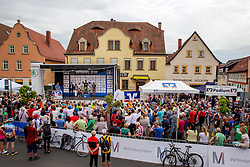Radsport: 36. Bayern Rundfahrt 2015 / 4. Etappe, Zeitfahren, Hassfurt, 16.05.2015<br /> Cycling: 36th Tour of Bavaria 2015 / Stage 4, <br /> time trial, Hassfurt, 16.05.2015<br /> # 45 Lagutin, Sergey (RUS, TEAM KATUSHA), # 32 Dowsett, Alex (GBR, MOVISTAR TEAM) , # 112 Barta, Jan (CZE, Team BORA-ARGON 18)