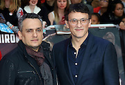 April 26, 2016 - Joe Russo and Anthony Russo attending 'Captain America: Civil War' European Film Premiere at Vue Westfield in London, UK.<br /> ©Exclusivepix Media