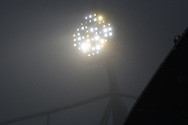 A foggy start before the The FA Cup 3rd round match between Bolton Wanderers and Crystal Palace at the Macron Stadium, Bolton, England on 7 January 2017. Photo by Mark Pollitt.
