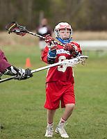 Lakes Region Lacrosse versus Generals U13 boys game Saturday, April 22, 2012.