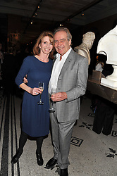 GERALD SCARFE and JANE ASHER at a private view of Private Eye: The First 50 Years - an exhibition at the Victoria & Albert Museum, London on 17th October 2011.