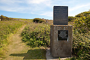 """Welcome stone of the Prince of the Saltee Islands, on Great Saltee off the coast of Co. Wexford, Ireland. In December 1943 the Saltees were purchased by Michael Neale, who styled himself Prince Michael the First, and entered into a protracted dispute with the Irish authorities over his right to govern, and taxes. After his death in January 1998 the islands are were passed on to his five sons Michael - now the prince, John  Manfred, Paul, Richard,  and his daughter Anne.  The island is open to free daily visits for anyone who wants to visit and experience its incredible wildlife.  .© 2011 Dave Walsh..The Saltee Islands. .And the waters surrounding them are an absolute possession of the prince of the Saltees and his heirs..No man or assembly of men has any right whatsoever to interfere in the affairs of the Saltee Islands.All decisions affecting the islands are made by the prince of the Saltees and his heirs both of the male and female line..Any decision not unanimous can be brought before the absent twelve""""..The """"absent twelve"""" will consist of twelve fisherman only, who can come from any part of the earth..All people young and old, are welcome to come, see and enjoy the islands, and leave them as they found them for the unborn generations to come see and enjoy.  ..Michael the First"""