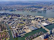 Nederland, Noord-Holland, Amsterdam; 16-04-2021; Amsterdam-Noord, overzicht Buiksloterham. Papaverweg  en Ridderspoorweg. Johan van Hasseltkanaal. Zicht op IJ en Westerdok.<br /> Amsterdam-Noord, overview Buiksloterham. Papaverweg and Ridderspoorweg. Johan van Hasseltkanaal. View of the IJ and Westerdok.<br /> <br /> luchtfoto (toeslag op standard tarieven);<br /> aerial photo (additional fee required)<br /> copyright © 2021 foto/photo Siebe Swart